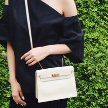 HERMÈS - Ivory Kelly Bag