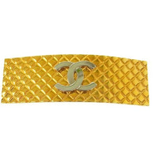 CHANEL - Gold hair barrette
