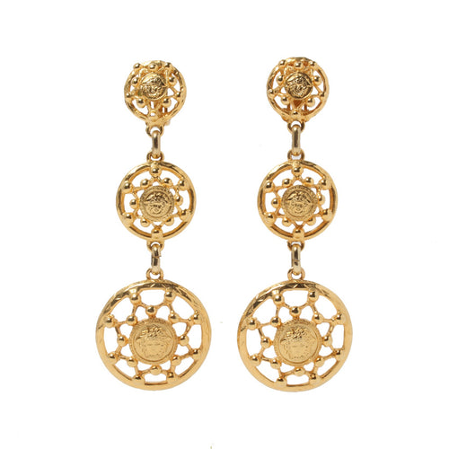 VERSACE - Gold Earrings