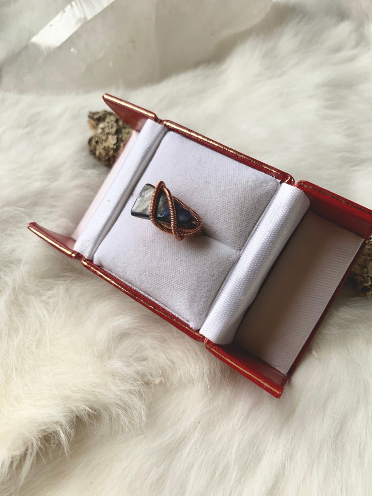Costume Wrapped Copper Ring
