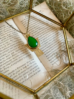 Emperor's Ascension Jade Necklace