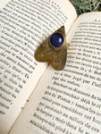 Blue Goldstone Voodoo Ouija Planchette Ring