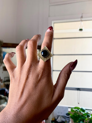 Eternal Slumber Black Onyx Ring