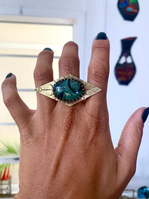 Nuit Goddess of Night Ring