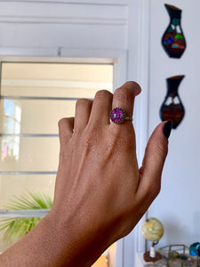 Charisma and Community Rhodonite Ring