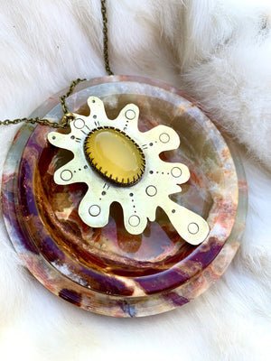 Honey Glob Necklace