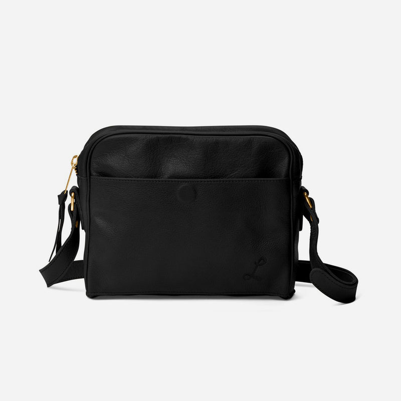 Cross Town Carry All Tumbled Black