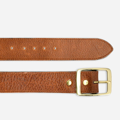 Men's Pickatinny Metallic Lined Belt - Coppered Brown