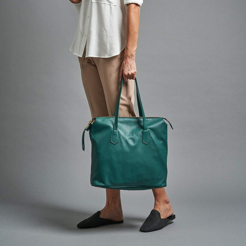 Make My Day Tote - Teal