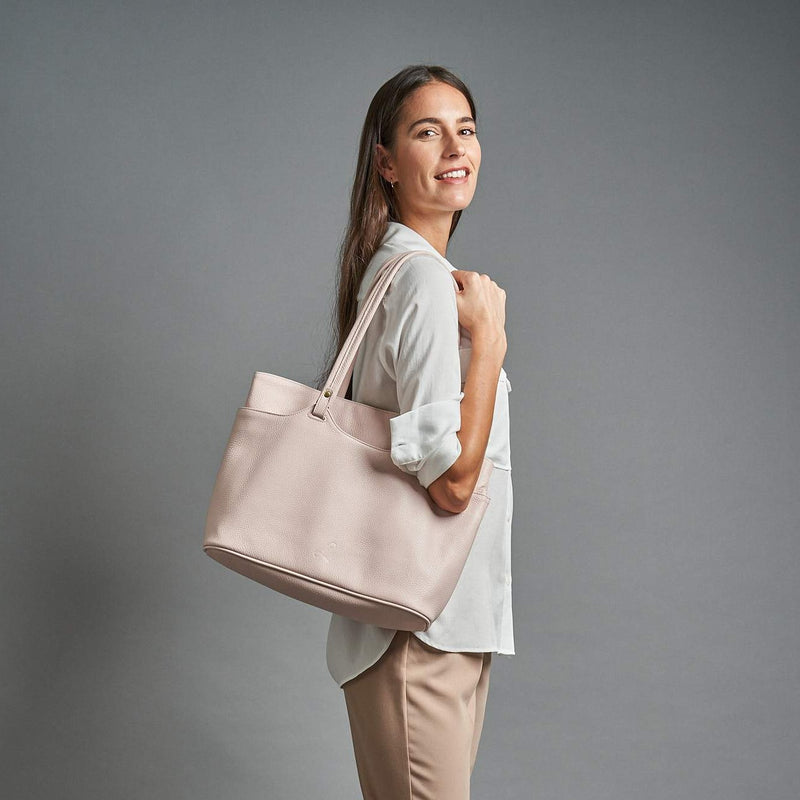 The Classic Tote - Pale Pink