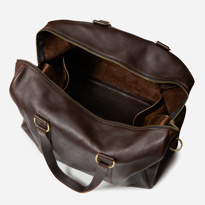 Weekender Duffel - Chocolate Brown