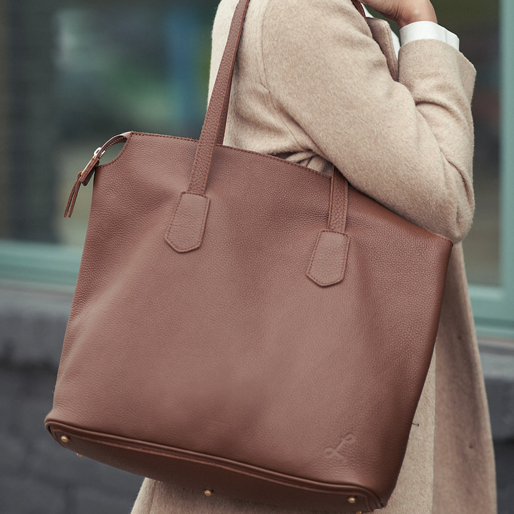 Make My Day Tote - Brown