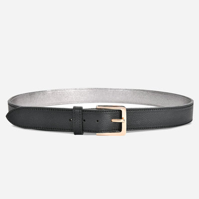 Women's Classic Belt - Tumbled Black