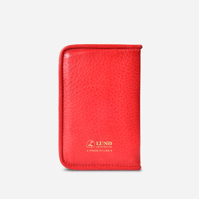 Lucky Passport Holder - Red