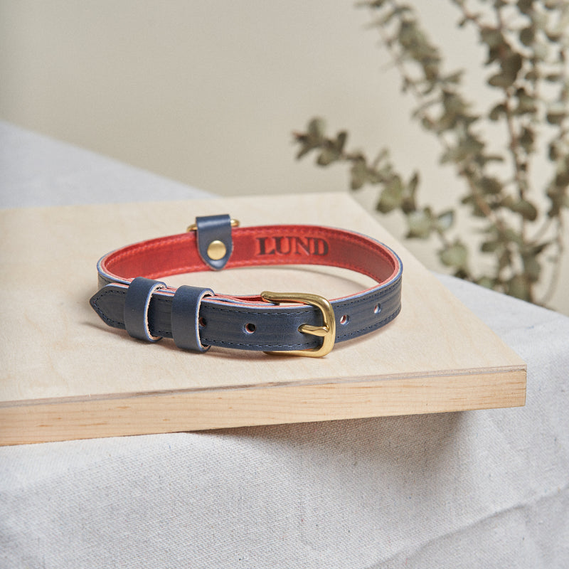 Dog Collar - Navy Blue
