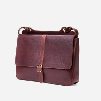 Men's Messenger Bag - Tumbled Brown