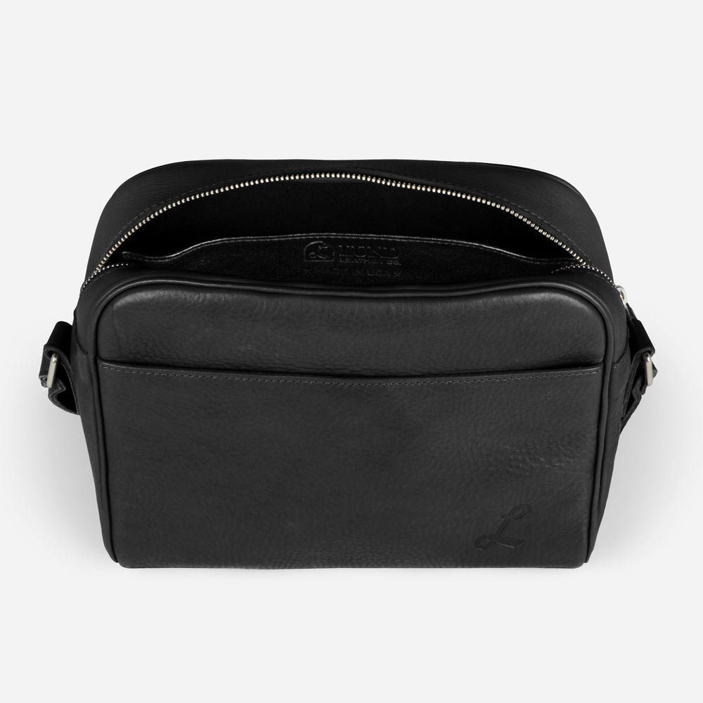 Cross Town Carry All - Tumbled Black