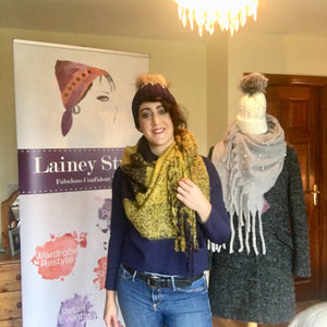 Scarf Demos and New Arrivals