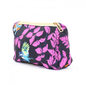 Bright Bird Make Up Bag Purple