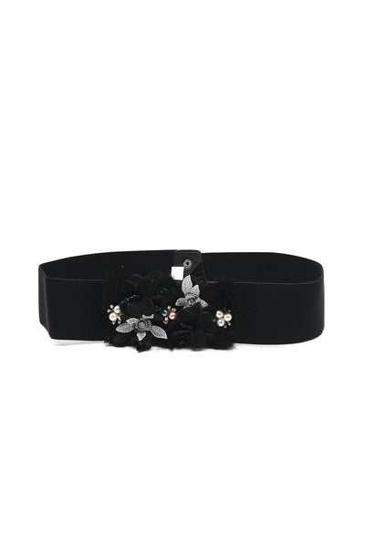 Chris Embellished Black Belt