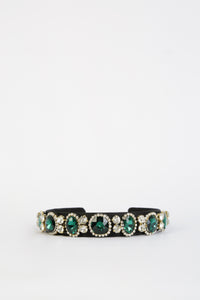 Caroline Head Band Green