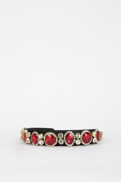 Caroline Head Band Red