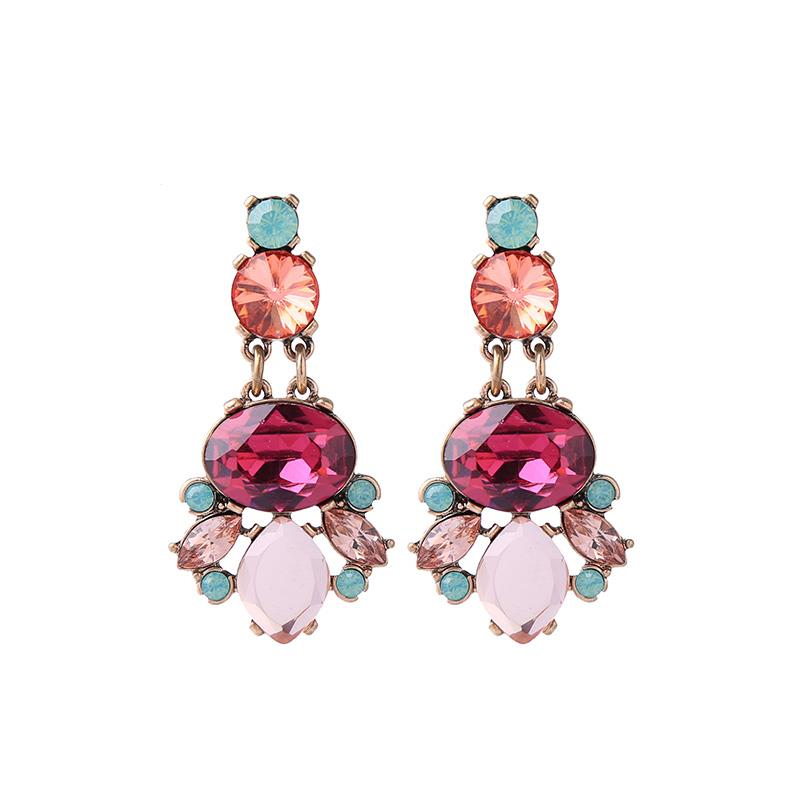 Eve Large Crystal Drop Earring