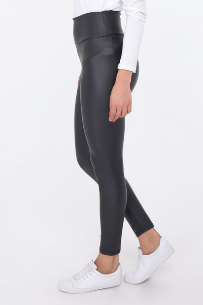 Emile Leather Look Leggings