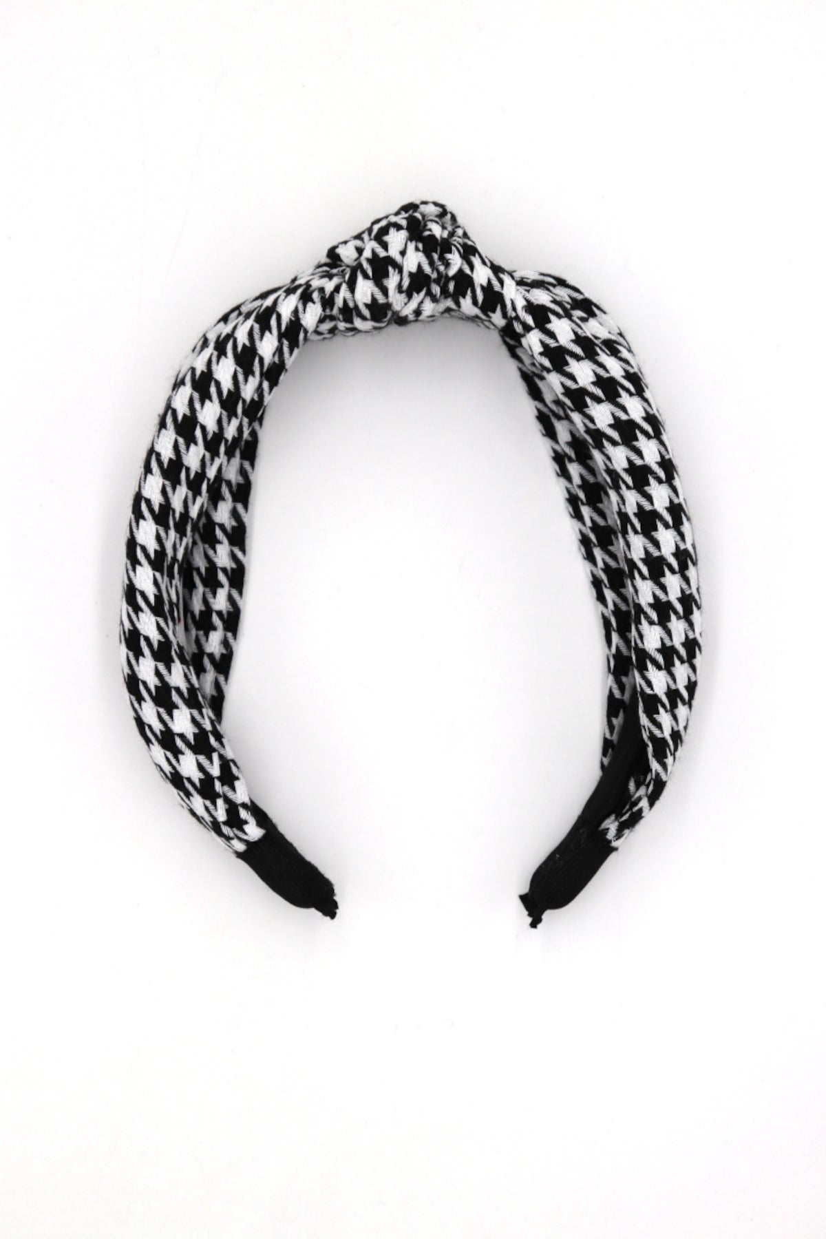 Emy Houndstooth Head Band