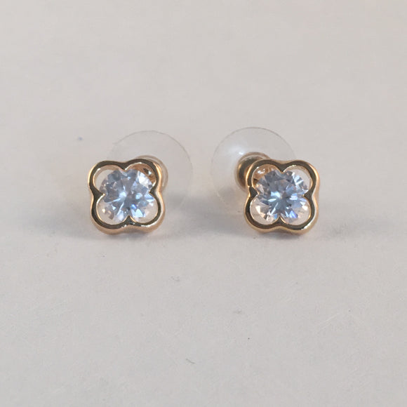 C.Z Stud Earrings