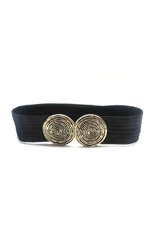 Hetty Gold Detail Stretch Belt
