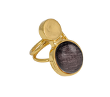 The Moon Ring Gold/Sparkle Grey
