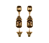 The Legacy Earrings Gold/Amber