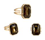The Legacy Ring Gold/Amber