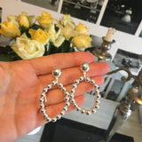 The Berry Earrings Silver