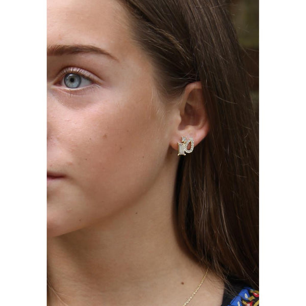 Sarah Crystal Shapes Earring