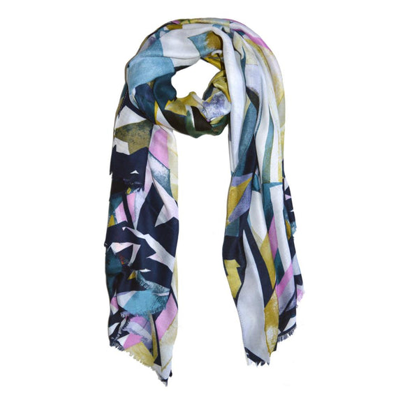 Charlotte Abstract Print Scarf