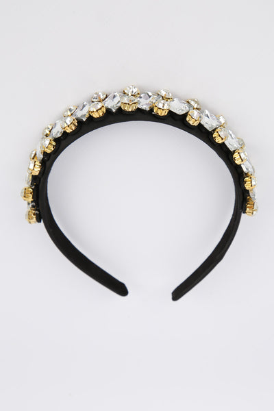 Naomi Head Band Clear
