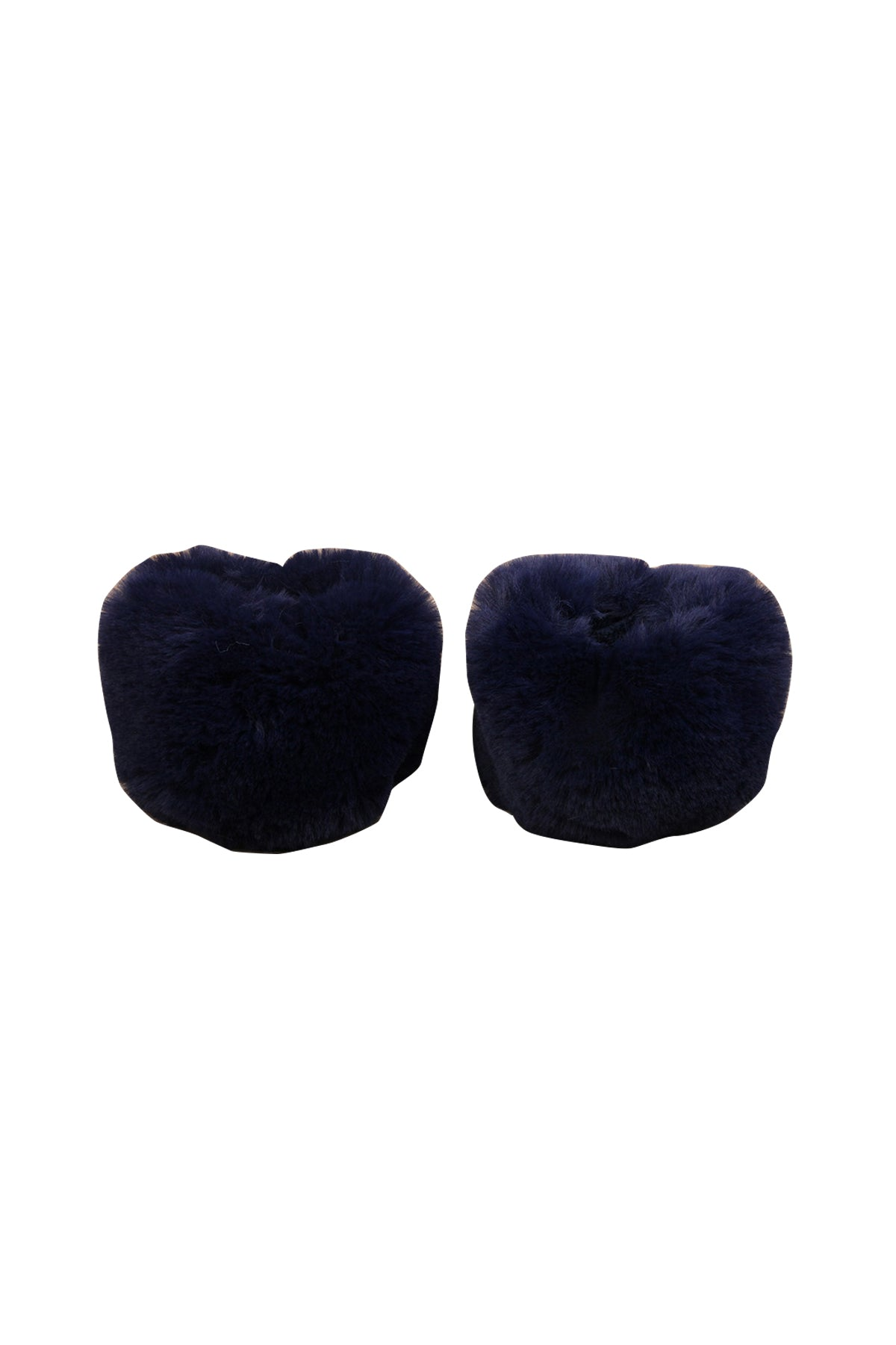 Nola Faux Fur Cuffs Navy
