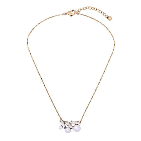 Pippa Pearl Cluster Necklace