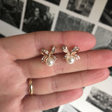 Pearl Clip-On Earrings
