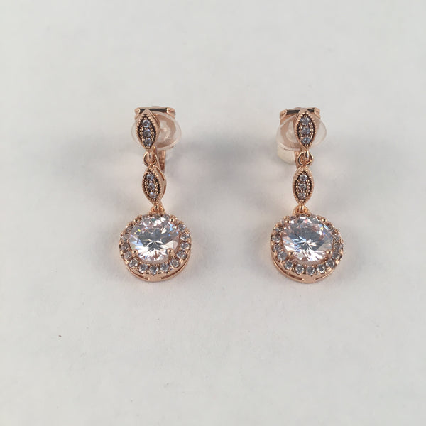 Elegant Drop Clip-On Earrings