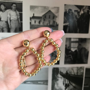 The Berry Earrings Gold