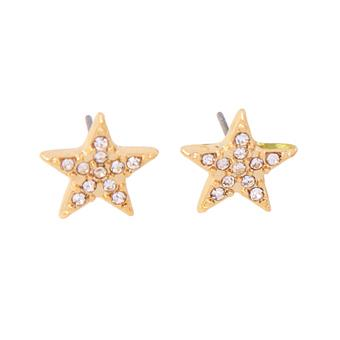 Riley Crystal Five Point Star Earring