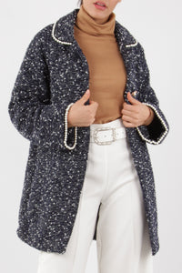 Stephanie Tweed and Pearl Coat