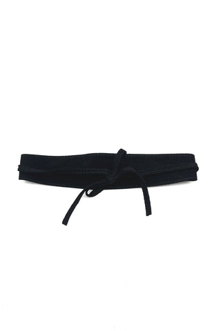 Sue Obi Belt Black