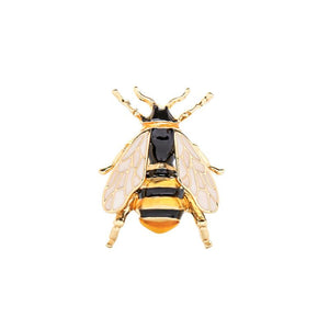 Wendy Enamel Bee Brooch