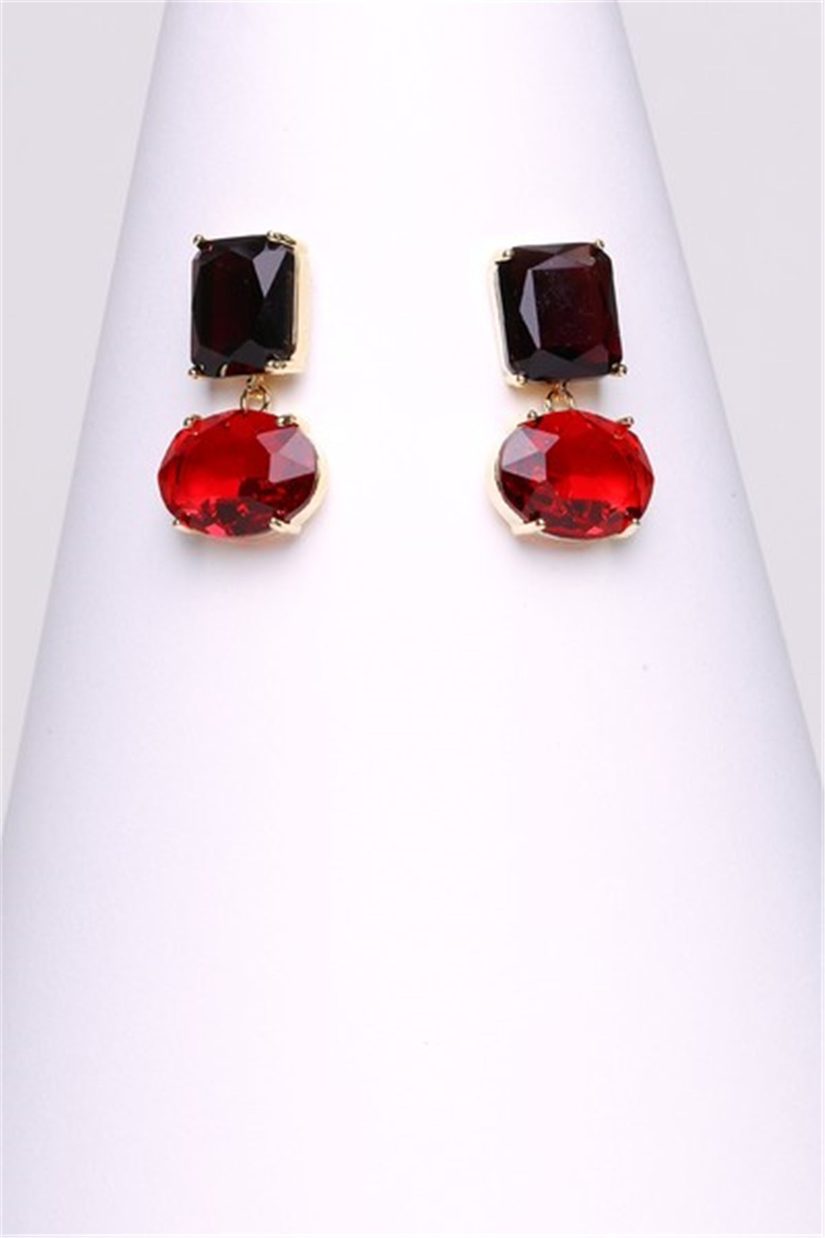 Zoey Red Drop Earring