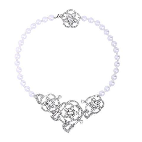 Harriet Pearl & Crystal Choker