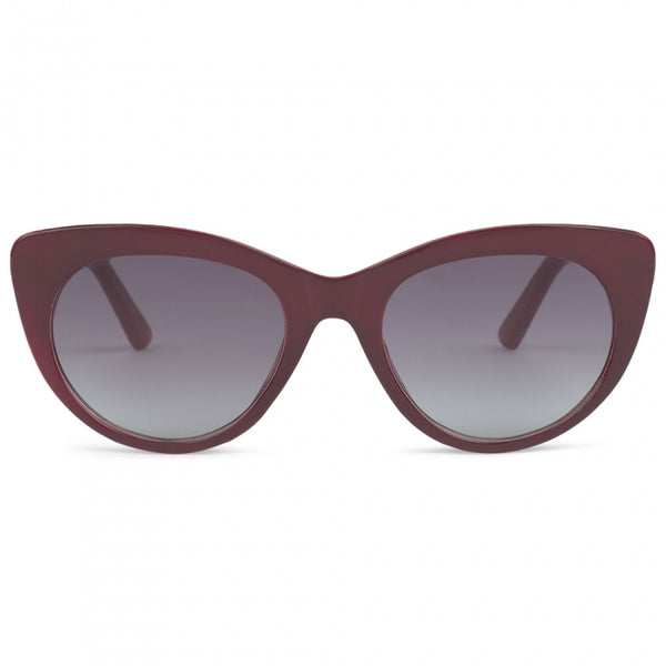Gigi Cat Eye Rose Wood Sunglasses